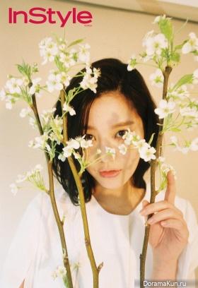 Lee Yoo Bi для InStyle May 2015