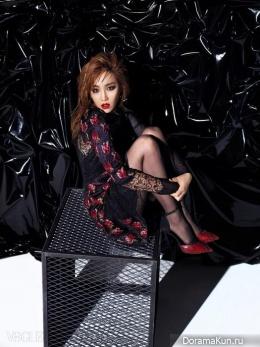 Lee Yoo Ri для Vogue December 2014