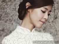 Lee Yoon Ji для Lux Morance 2014 CF