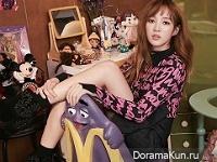 Jia (Miss A) для Vogue Girl November 2015