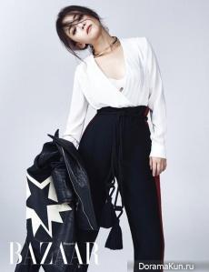 Moon Geun Young для Harper's Bazaar October 2015