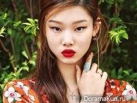 Bae Yoon Young для Cosmopolitan August 2015