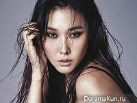 Han Hye Jin для SURE October 2015