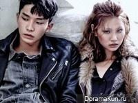 Jung Ho Yeon, Ahn Seung Jun, Park Sera для W Korea August 2015