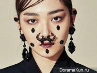 Kim Hee Sun для Dazed October 2015
