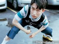 Kim Sang Woo для Dazed October 2015