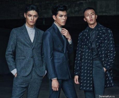 Min Joon Ki, Han Seung Soo, Jung Hyuk для GEEK September 2015