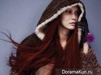 Song Kyung Ah для W Korea August 2015