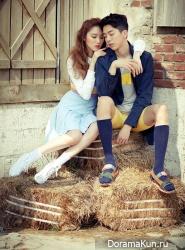 Lee Sung Kyung, Nam Joo Hyuk для CeCi April 2014