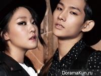 Nam Joo Hyuk, Kang Seung Hyun, Park Hyeong Seop для Elle December 2014