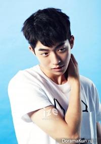 Nam Joo Hyuk для IZE Magazine July 2014