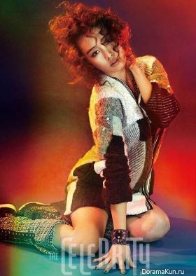Nicole для The Celebrity January 2015 Extra