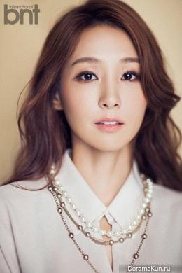 Oh Jung Yeon для BNT International August 2015
