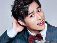 Oh Min Suk для The Celebrity February 2015