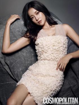Oh Yeon Seo для Cosmopolitan February 2015