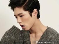 Park Bo Gum для SURE October 2015