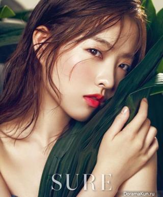 Park Bo Young для SURE Korea July 2015