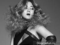 Park Na Rae для Elle December 2015