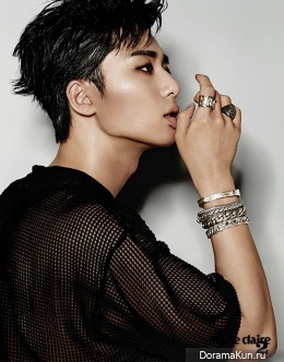 Park Seo Joon для Marie Claire December 2014