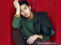 Park Seo Joon для The Celebrity September 2014