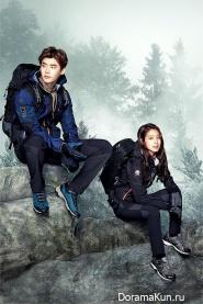 Park Shin Hye, Lee Jong Suk для MILLET F/W 2015