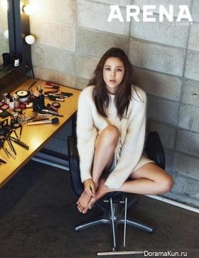 Park Si Yeon для Arena Homme Plus November 2014