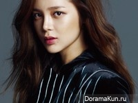 Park Si Yeon для Cosmopolitan October 2014