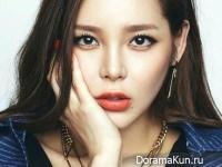 Park Si Yeon для Mzuu 2014 CF