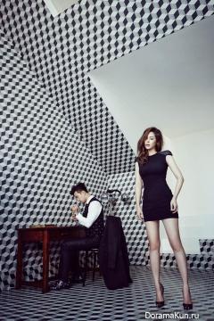 Park Si Yeon, Bae Soo Bin для Style Chosun October 2014