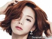 Park Soo Jin для Cosmopolitan May 2015