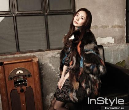 Park Ye Jin для InStyle January 2015