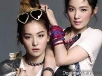 Red Velvet (Irene, Seul Gi) для Harper's Bazaar October 2014 Extra