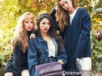 Red Velvet для Nylon Korea December 2015