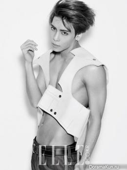 SHINee (Jonghyun) для Elle February 2015 Extra 2