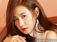 SNSD (Yuri) для Cosmopolitan Korea November 2014