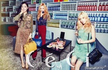 SNSD (Seohyun, Taeyeon, Tiffany) для CeCi September 2015