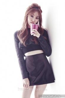 Secret (Jieun) для Esquire November 2014 Extra