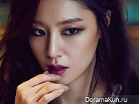 Seo Ji Hye для InStyle December 2015