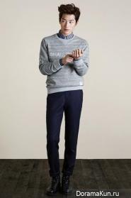 Seo Kang Joon для T.I For Men F/W 2014 CF