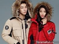 AOA (Seolhyun), N.Flying (Seunghyub) для Buckaroo F/W 2015 Extra