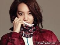 Shin Min Ah для InStyle November 2014 Extra