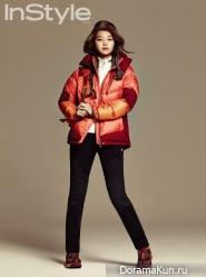 Shin Min Ah для InStyle November 2014
