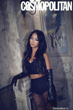 Hyorin (Sistar) для Cosmopolitan Korea July 2015