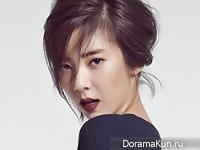 Son Dam Bi для InStyle December 2015