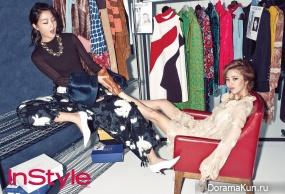 Son Dam Bi, Kang Seung Hyun для InStyle November 2015