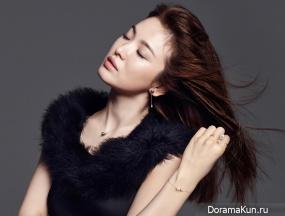 Song Hye Kyo для J.ESTINA F/W 2015 Extra