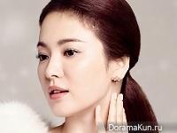 Song Hye Kyo для J.ESTINA Jewelry 2015