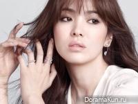 Song Hye Kyo для J.ESTINA S/S 2015 CF
