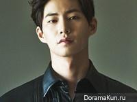 Song Jae Rim для SURE October 2014