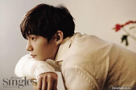Song Jae Rim для Singles February 2015